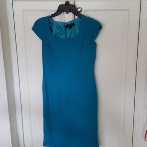 Tahari  Turquoise dress